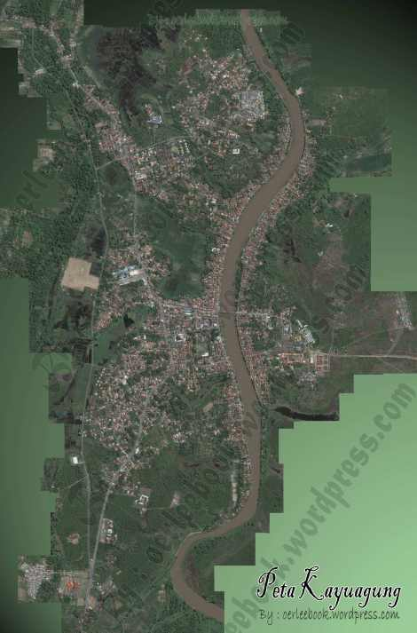 Peta Kayuagung