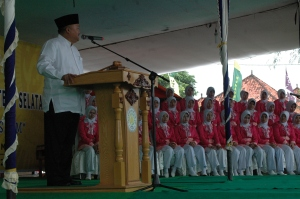 Gubernur Sumsel membuka acara Musda dan Muswil Muhammadiyah se-Sumsel